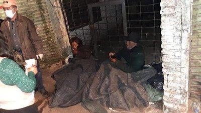 Operativo Ñeñuá: SEN asistió a 40 personas expuestas a bajas temperaturas