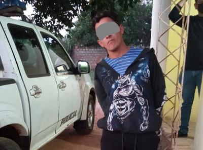 Joven fue detenido por agredir a policías en Concepción
