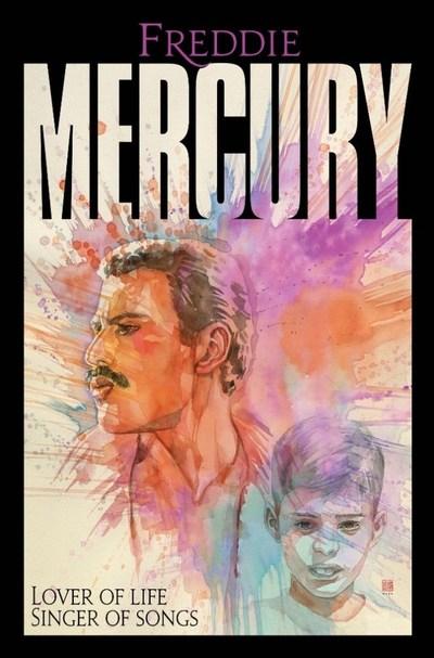 Freddie Mercury tendrá su propia novela gráfica