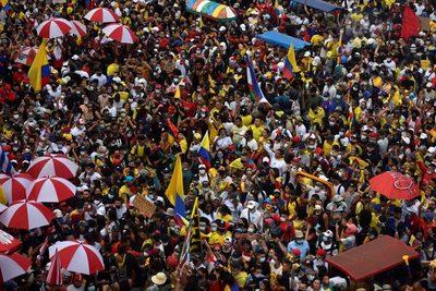 Al menos 129 personas siguen desaparecidas en las protestas de Colombia