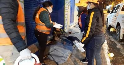 La Nación / SEN aún no encuentra recinto para montar albergue por bajas temperaturas