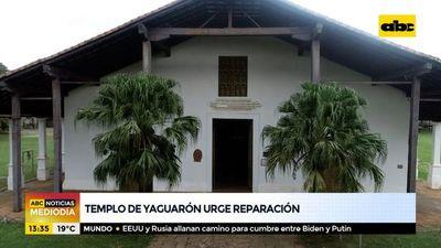 Templo de Yaguarón urge reparación