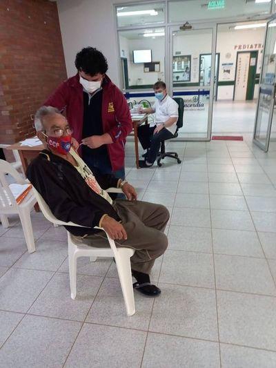 Continúan vacunación anticovid en Boquerón mientras se esperan más dosis
