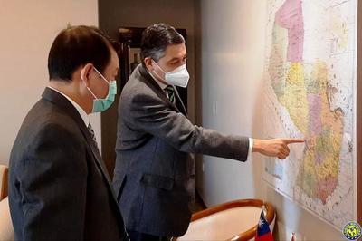 Interés del embajador de Taiwán en Censo Nacional de Población y Viviendas 2022 •