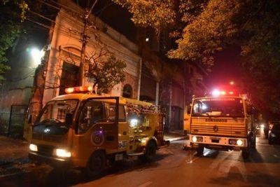 Un hombre sufre quemaduras en el incendio de su vivienda en Asunción