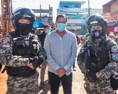 Ulises Quintana con PROTECCION policial…?