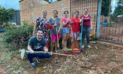 Ricardo Leiva recupera local partidario del barrio 23 de octubre y lo pone a disposición de la gente – Diario TNPRESS