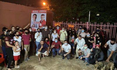 Wiens comparte con dirigencia de Federico González y Chiqui Quintana en Bo. Obrero – Diario TNPRESS