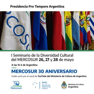 Paraguay participará del Seminario sobre Diversidad Cultural del Mercosur