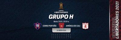 Cerro Porteño busca su lugar en los octavos de final de la Copa Libertadores