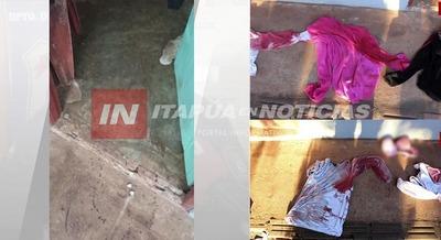 CASO TENTATIVA DE FEMINICIDIO: ENCONTRARON INDICIOS DEL BRUTAL ATAQUE.