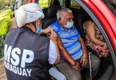 Centros de vacunación habilitados en Asunción y Central
