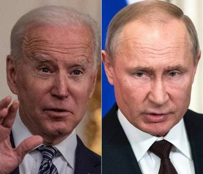 Biden y Putin se encontrarán el 16 de junio en Ginebra