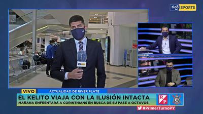 River Plate va a Brasil con las maletas llenas de ilusión