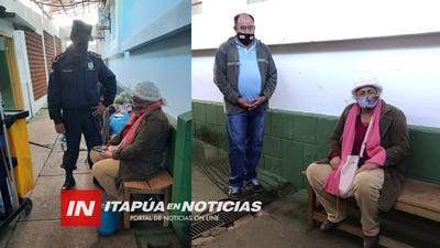 DIRECTOR DE POLICÍA VISITÓ A MADRE DE LA VÍCTIMA DE TENTATIVA DE FEMINICIDIO.