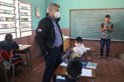 Ministro del Interior articula trabajo conjunto con instituciones en el Dpto. de Caaguazú