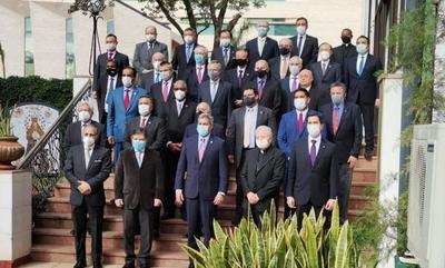 Abdo logra respaldo internacional tras reunión con miembros del cuerpo diplomático – Prensa 5