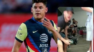 Escándalo: Sánchez y otros jugadores en una fiesta sexual