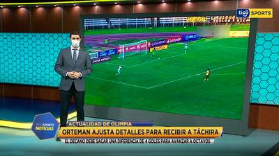 El informe de Olimpia con Diego Rolón