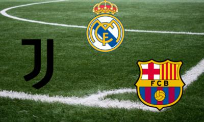 UEFA abre expediente contra Real Madrid, Barcelona y Juventus