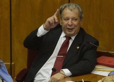 Calé Galaverna dispuesto a asumir la Presidencia del Senado si sus colegas quieren