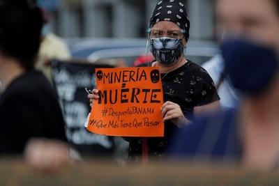 """Protestan en Panamá contra la minería: """"es pan para hoy y hambre para mañana"""""""