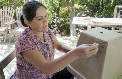 Encuentro de ceramistas se inicia en Areguá