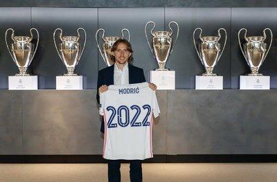 Modric renueva con el Madrid hasta el 2022