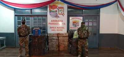 Incautan mercaderías de origen argentino en zona de Tres Fronteras