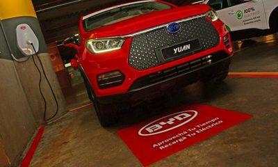 Paseo La Galería y BYD habilitan puntos de recarga para autos eléctricos