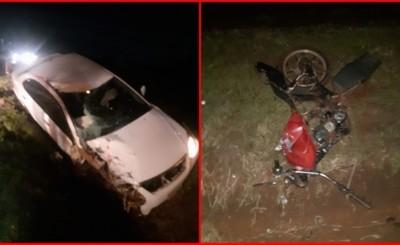 Familia completa muere tras choque frontal contra un automóvil