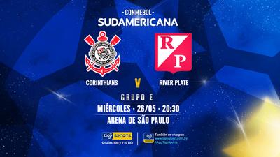 River Plate va por la clasificación ante Corinthians