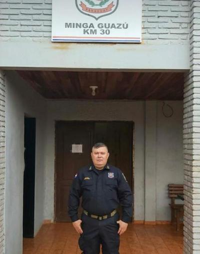Jefe de la subcomisaría n° 52 de Minga Guazú fallece por Covid-19