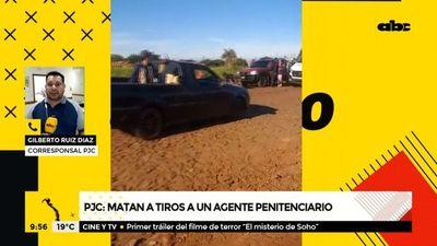 Matan a tiros a un agente penitenciario en Pedro Juan Caballero