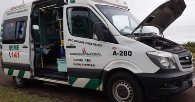 La Nación / SEME solo cuenta con 15 ambulancias operativas en Asunción