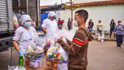 MEC entregó 627.125 kg de alimentos a 77 instituciones educativas de Asunción