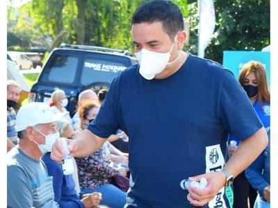 Intendente de Villa Elisa sostiene que es posible que ciudades compren vacunas anti-COVID