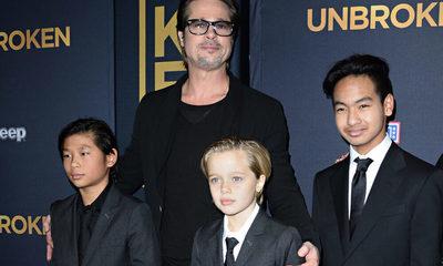 Brad Pitt consiguió la custodia compartida de sus hijos con Angelina Jolie