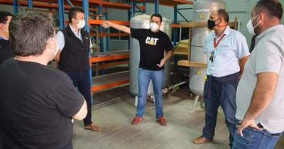 La Nación / Anuncian instalación de segunda planta de oxígeno en Villa Elisa
