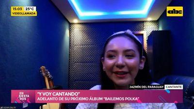 """""""Y voy cantando"""", el nuevo sencillo de Jazmín del Paraguay"""