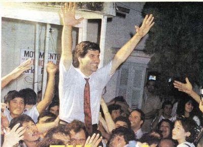 Hace 30 años, Carlos Filizzola se convertía en el primer intendente de Asunción de la era democrática
