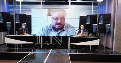 """La Nación / """"No podemos seguir contando muertos diariamente"""", sentenció José Fusillo"""