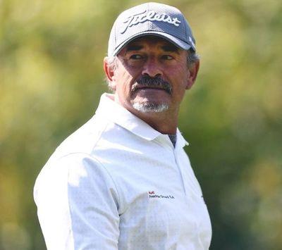 Carlos Franco, en el Senior Championship