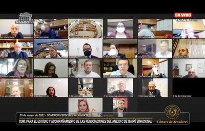 Anexo C: el canciller reveló que inició revisión con Brasil