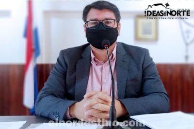 Ciclovía Internacional: Vicepresidente Cristian Franco presenta anteproyecto ante intendente y colegas de la Junta Municipal