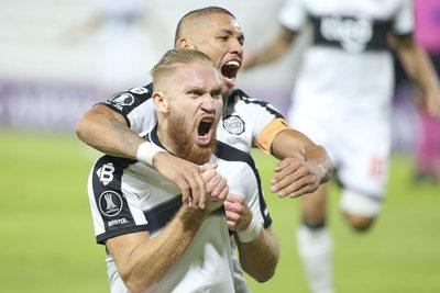Olimpia golea y logra instalarse en los octavos de final de la Copa Libertadores