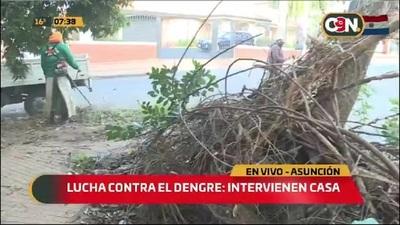 Asunción: Intervienen casa en la lucha contra el dengue
