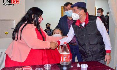 """Candidato de """"Unidos Podemos"""" recibe también apoyo de postulantes a la Junta – Diario TNPRESS"""