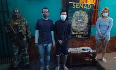 Tres distribuidores de drogas detenidos con varias evidencias – Diario TNPRESS