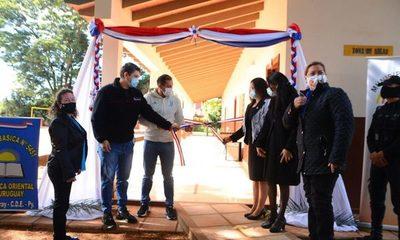 Municipalidad de Ciudad del Este inaugura obras en escuelas de los diferentes barrios – Diario TNPRESS